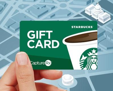 Starbucks CaptureRx Gift Card