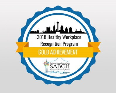2018 Healthy Workplace Recognition Program Award