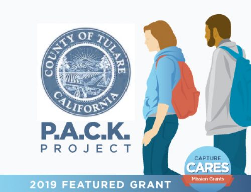 Featured Grant: Backpacks for Homelessness