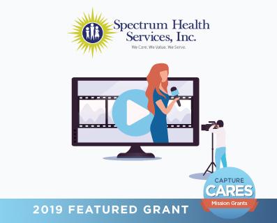 Spectrum Health Services grant graphic - small