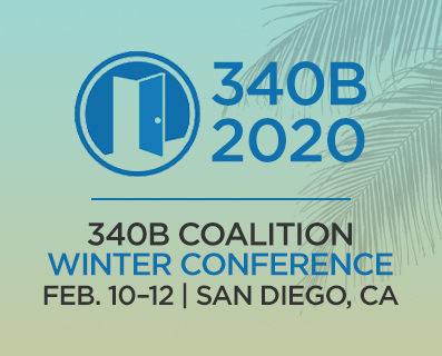 340B Coalition Winter Conference - San Diego graphic