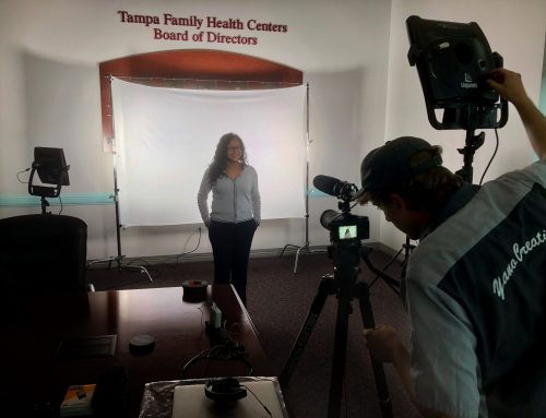 Capture Cares Video Shoot at Tampa Family Health