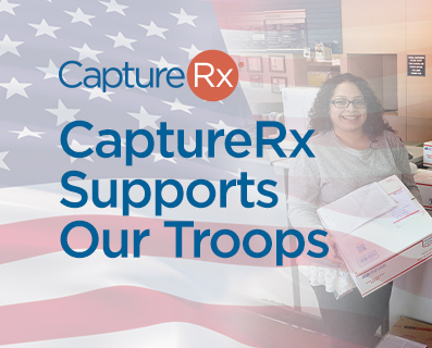 CaptureRx Supports the troops graphic - small