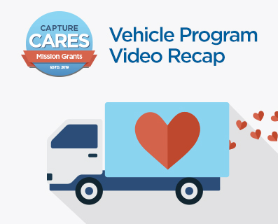 Capture Cares - Vehicle Video Recap - Small Graphic