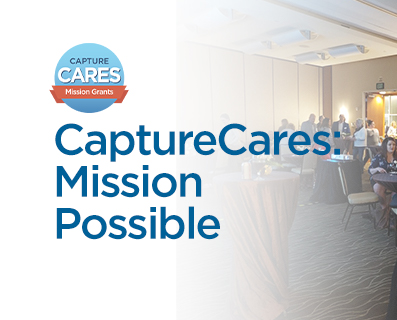 Capture Cares Mission Possible - Small Grant Graphic