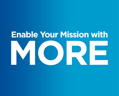 Enable your mission with MORE - small graphic