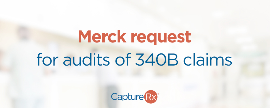 Merch request for audits of 340b claims