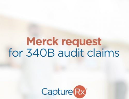 Merck Request for Audits of 340B claims