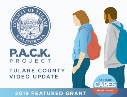 Capture Cares County of Tulare – P.A.C.K Project Video Update