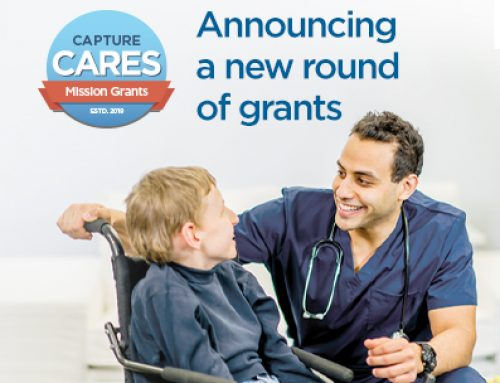 Capture Cares Foundation Awards Nearly $350,000 in Grants for 2020