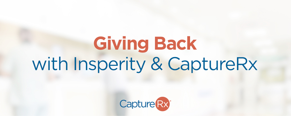 Giving Back - With CaptureRx and Insperity