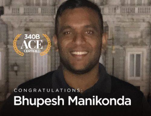 ACE Spotlight – Bhupesh Manikonda