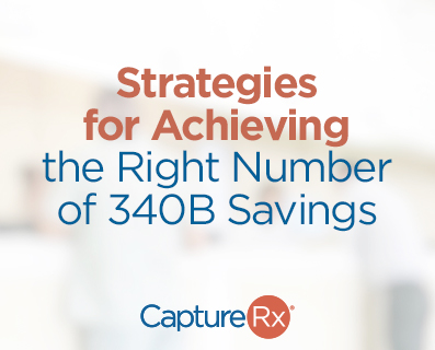 Strategies for Achieving the Right Number of 340B Savings - small graphic