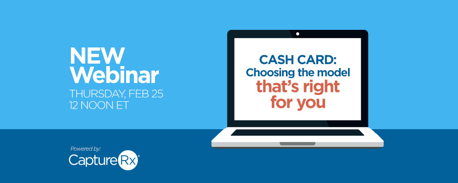 "Laptop with the text inside ""Cash Card - Choosing the Model that's right for you"""