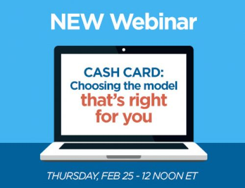 Webinar Series –  Cash Card: Choosing the model that's right for you
