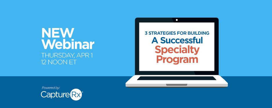 Webinar - Specialty Program - Graphic inside of a Laptop Screen