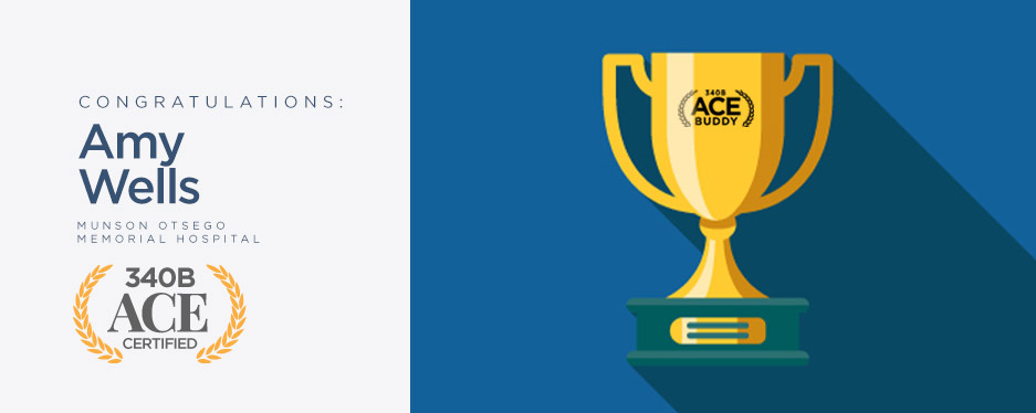 ACE Buddy award - Amy Wells