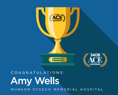 Small Graphic - ACE Buddy award - Amy Wells
