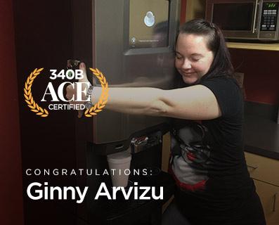 Small Graphic - ACE Winner Ginny Arvizu