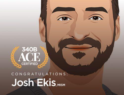 340B ACE Spotlight – Josh Ekis