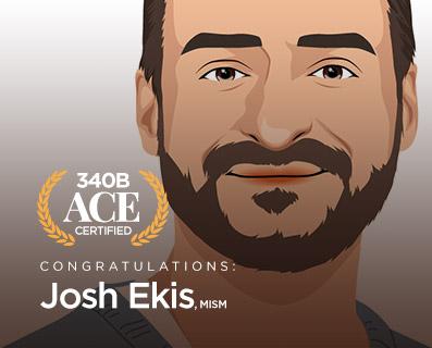 340B Ace Certified Josh Ekis